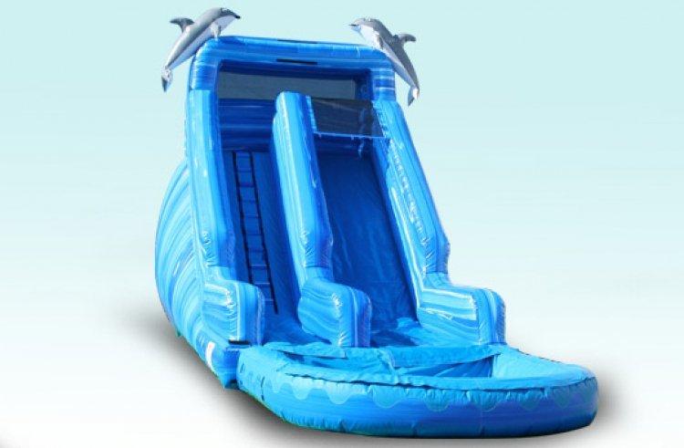 20FT Dolphin Slide  (34x11x20)