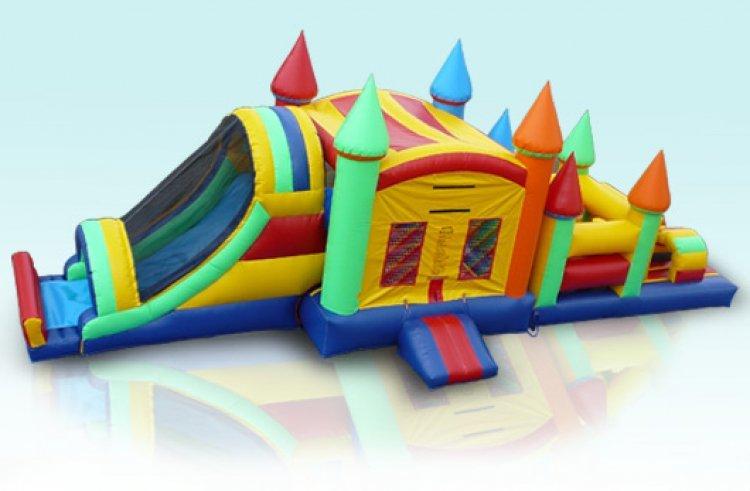 Castle Combo Obstacle Course  (53x13x15)