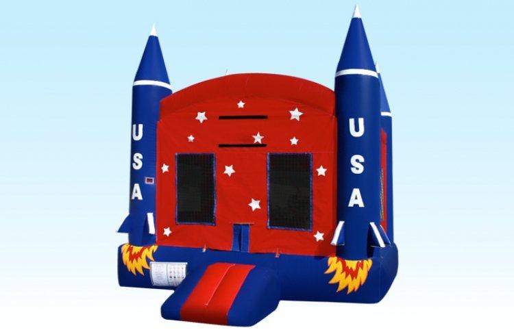 Space Ship Bouncer (13x13x15)