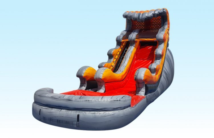 18ft Tidal Wave Water Slide  (33x11x18)