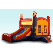 Sports Bouncer W/Slide (22x13x15)
