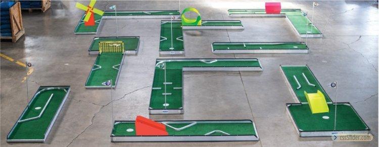 9-Hole Mini Golf  (Minimum Space 20x20)