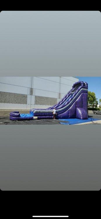 22ft Mamba Water Slide 40Lx22Wx22H