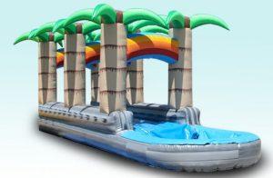 tropical waterslide rental